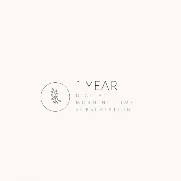 1 Year Digital Morning Time Subscription