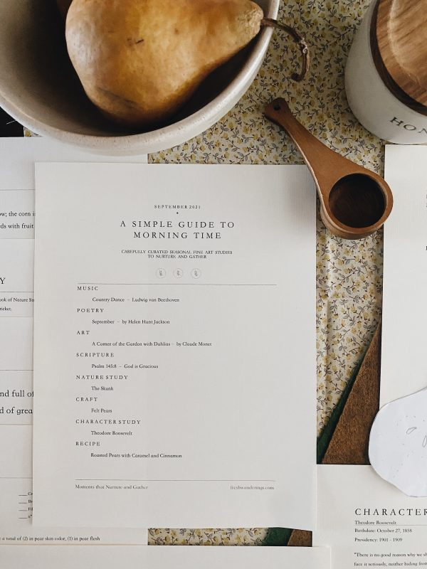 A Simple Guide to Morning Time September 2021 | Fresh Wanderings 13